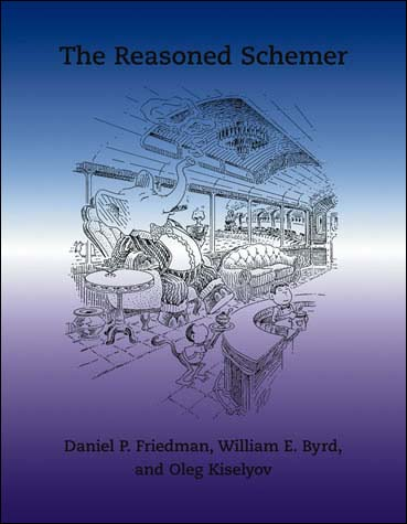 The Reasoned Schemer front cover