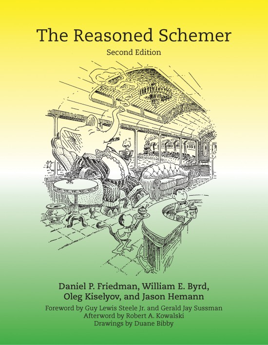 The Reasoned Schemer, Second Edition front cover